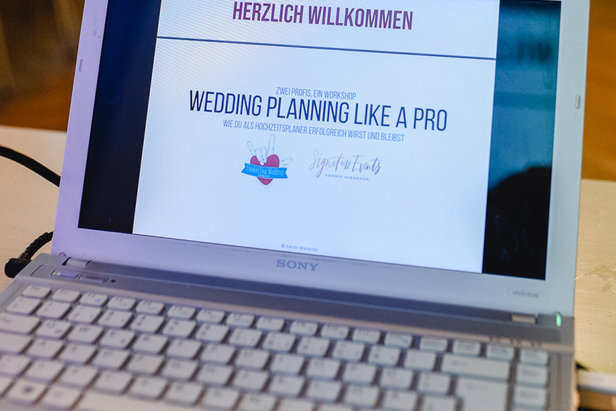 der Praxistag<br/>25.11.2019 <br/> Wedding Planning Like A Pro