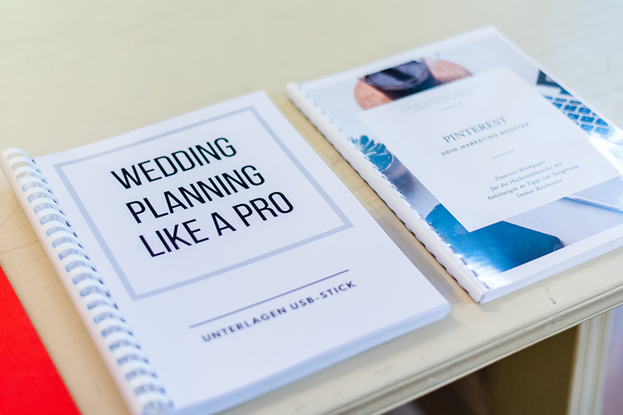das Original & Praxistag<br/>23.-25.11.2019<br/>wedding planning like a pro