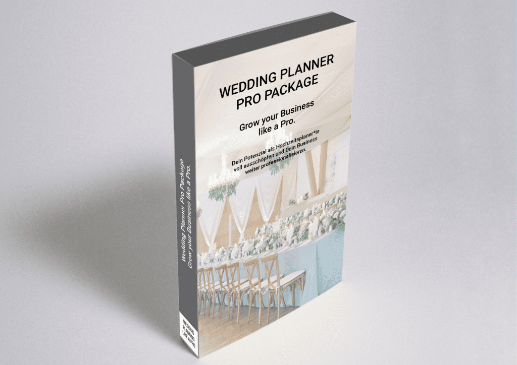 Wedding Planner Pro Package: Grow your Business like a Pro